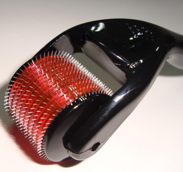 Titanium 540 Needles Pro Derma Roller PRP Collagen