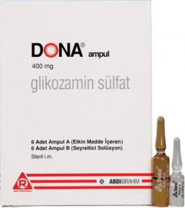 Dona 400 Mg Inj 5 Amp Glucosamine Sulfate Lidocaine Injectable